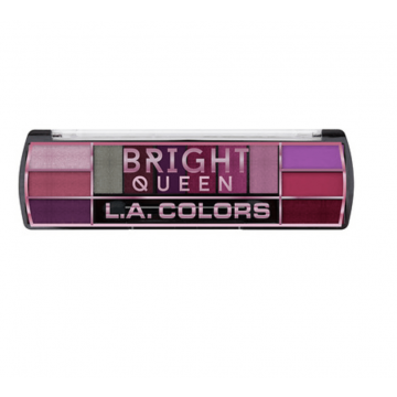 LA Colors Bright Queen 12 Colour Eyeshadow Palette - 8g - US