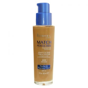 Rimmel Match Perfection Foundation - Bronze - 034-402 - 3614220954134
