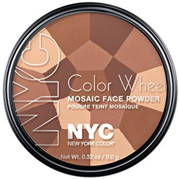 NYC Color Wheel Mosaic Face Powder - All Over Bronze Glow  - BB