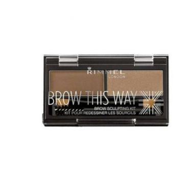 Rimmel Brow This Way Pallet - Medium Brown 034-002 - 3607344535037