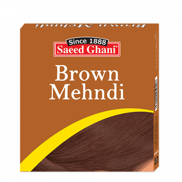 Saeed Ghani Brown Hair Mehndi - 10gm