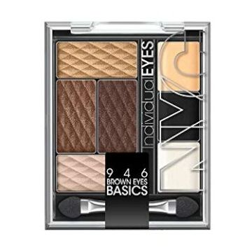 NYC Individualeyes Eye Shadow Palette - Brown Eyes Basics - NY946BRB