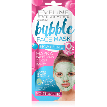 Eveline Bubble Face Sheet Mask Moisturizing - 07-20-00027