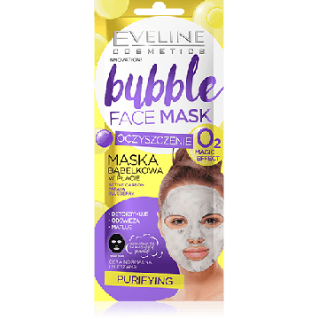 Eveline Bubble Face Sheet Mask Purifying - 07-20-00028