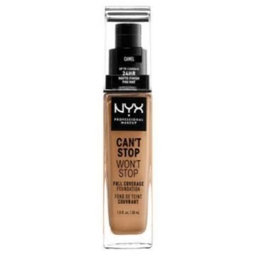 Nyx Can't Stop, Won't Stop Foundation - Camel (CSWSF12.5)