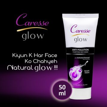 Caresse Glow Anti-Pollution Purifying Face Wash - 50ml