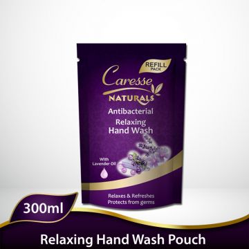 Caresse Naturals Hand Wash (Relaxing) - Refill Pouch - 300ml