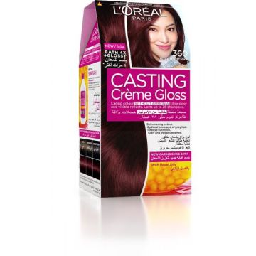 L'Oreal Paris Casting Creme Gloss 360 Black Cherry - 946