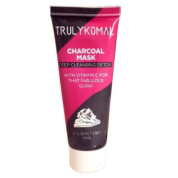 Truly Komal Charcoal Mask - 100ml