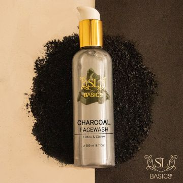 SL Basics Charcoal Facewash - 200ml