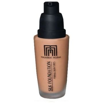 Masarrat Misbah Makeup Silk Foundation - Chestnut