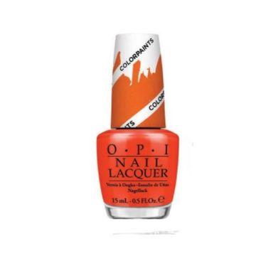 OPI Nail Lacquer Chromatic Orange - NLP21