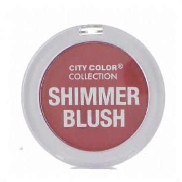 City Color Shimmer Blush - Mauve - BB - CCC0021-04 - j4g