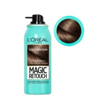 L'Oreal Paris Magic Retouch Root Touch Up Hair Color Spray - 8 Cold Dark Brown - 75ml - 1087