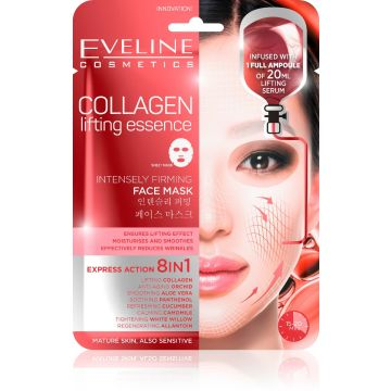 Eveline Collagen Firming Face Sheet Mask - 07-20-00018