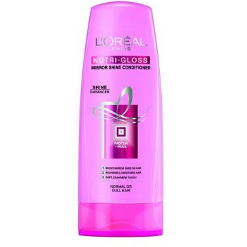 L'Oreal Nutri Gloss Mirror Shine Conditioner - 175ml - 0971