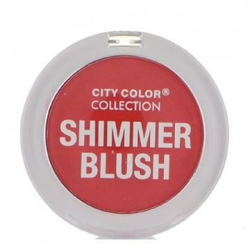 City Color Shimmer Blush - Coral  - BB
