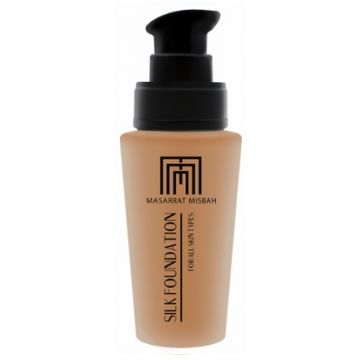 Masarrat Misbah Makeup Silk Foundation - Cream