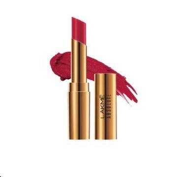 Lakme Absolute Argan Lip Color- Crimson Silk - 8901030629006