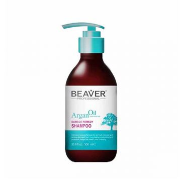 Beaver Argan Oil Damage Remedy Shampoo - 1000ml