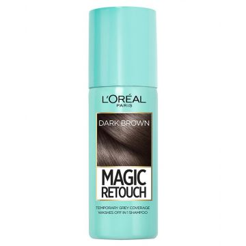 L'Oreal Paris Magic Retouch Root Touch Up Hair Color Spray - Dark Brown - 75ml