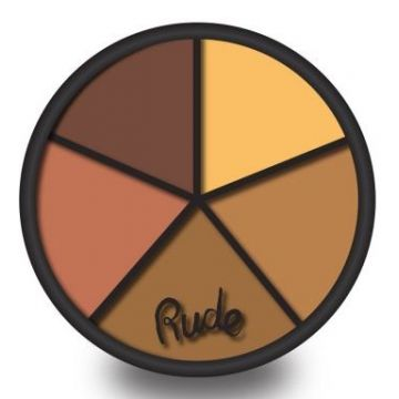 Rude Fabulous Concealer Wheel - 65918 Dark