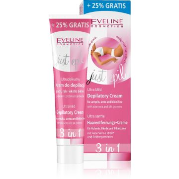 Eveline Ultra Mild 3 in 1 Depilatory Cream 125ml - 07-25-00001
