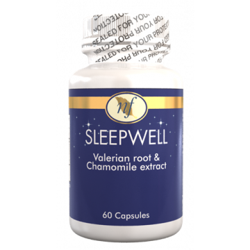 Natural Fervor Vitamin Sleep Well - Regulates Sleep - 60 Tablets