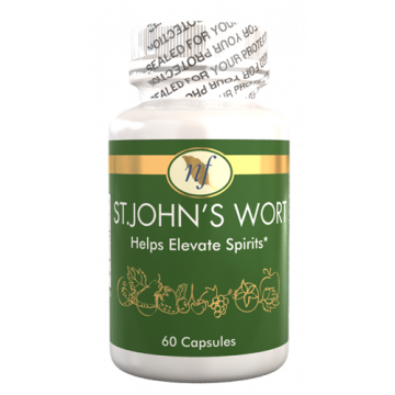 Natural Fervor Vitamin St. John'S Wort - Helps Elevate Spirits - 60 Tablets