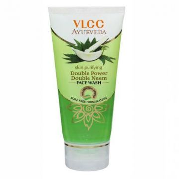 VLCC Double Power Double Neem Skin Purifying Face Wash - 50ml