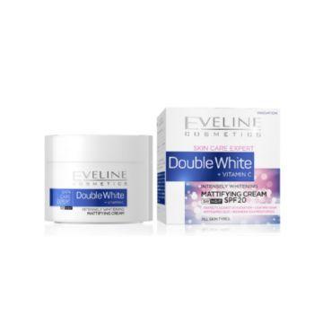 Eveline Double Whitening Mattifying Cream - 50ml