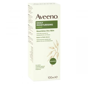 Aveeno Body Cream Daily Moisturising Dry & Sensitive Skin 100ml - 3574660332490