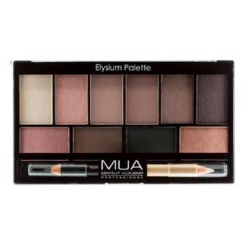 MUA Eyeshadow 10 Pro Palette - Elysium