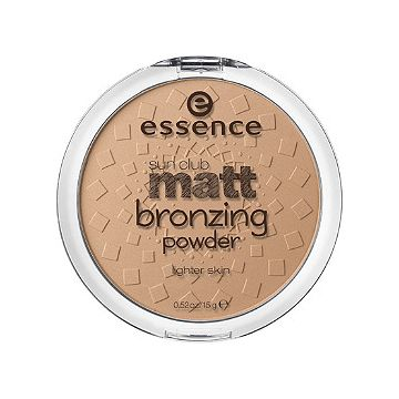 Essence Sun Club Matt Bronzing Powder Light Skin - 01 - Natural