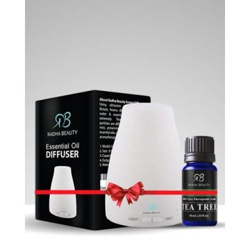 Radha Essential Oil Diffuser Plus Essential Oil