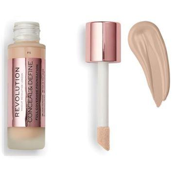 Makeup Revolution Conceal & Define Foundation - F5