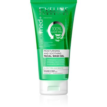 Eveline Facemed Aloe Vera Face Wash Gel 150ml - 07-26-00018
