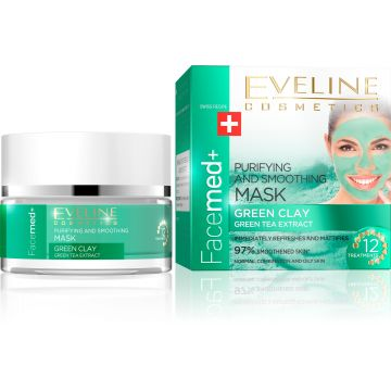 Eveline Facemed Green Clay Mask 50ml - 07-26-00004