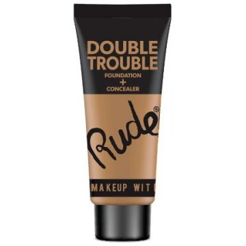 Rude Double Trouble Foundation + Concealer - 87932 Fair