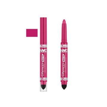 NYC City Proof Matte Blur Lip Color - Fashion Fuschia - BB
