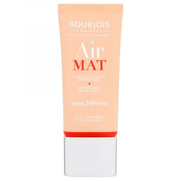 Bourjois Air Mat 24H Foundation - T01 Ivory Rose