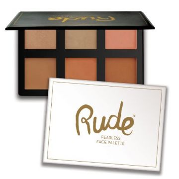 Rude Fearless Face Palette - 65549