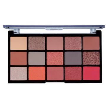MUA Pro 15 Shade Eyeshadow Palette - Fire Vixen
