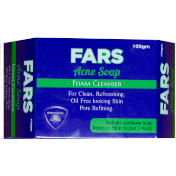 FARS Acne Face Soap  - 100gm