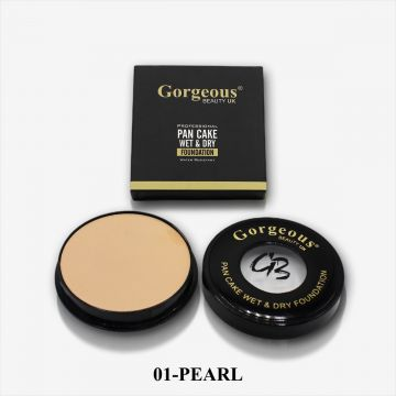 Gorgeous Beauty UK Pancake Foundation - 01 Pearl