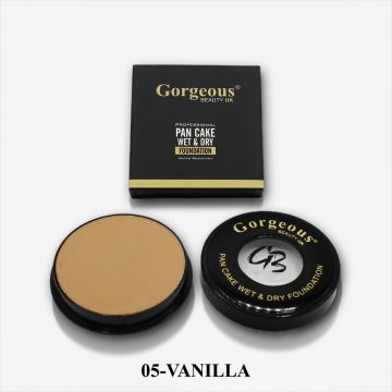 Gorgeous Beauty UK Pancake Foundation - 05 Vanilla