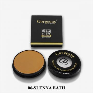 Gorgeous Beauty UK Pancake Foundation - 06 Slenna Eath