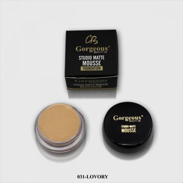 Gorgeous Studio Matte Mousse Foundation - 031 Ivory