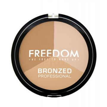 Freedom Makeup Bronzed Professional Pro Warm Lights