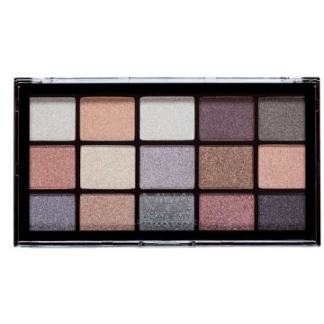 MUA Pro 15 Shade Eyeshadow Palette - Frosted Gleam